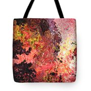 Ganesh In The Garden Tote Bag