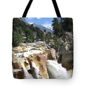 Ganges In Gangotri Close To Its Source Tote Bag