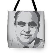 Gangster - Al Capone Tote Bag
