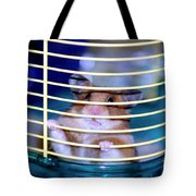 Gangster Hamster Tote Bag