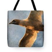 Gannet In Flight 2 Tote Bag