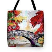 Gapstow Bridge I Tote Bag