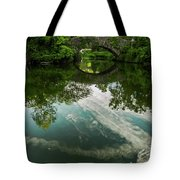 Gapstow Bridge In Central Park Tote Bag