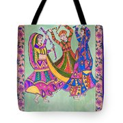 Garba Dance Tote Bag