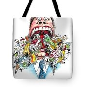 Garbage Mouth Tote Bag