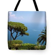 Garden And Bay Of Naples Tote Bag