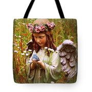 Garden Angel Tote Bag