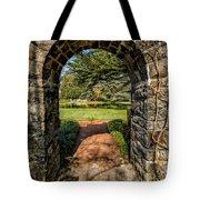 Garden Archway Tote Bag
