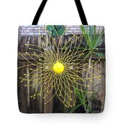 Yellow Sunflower Garden Art Tote Bag