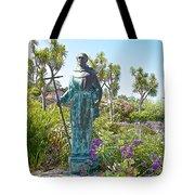 Garden At Carmel Mission-california Tote Bag