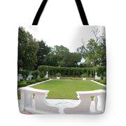 Garden At Crane Cottage Tote Bag