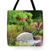 Garden Benches 5 Tote Bag