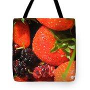 Garden Berries Tote Bag