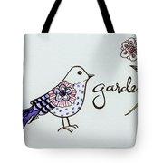 Garden Bird Tote Bag