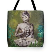 Garden Buddha Tote Bag