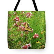 Garden Butterfly Tote Bag