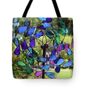 Garden Colored Fan Tote Bag