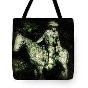 Garden Cowboy Tote Bag