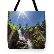 Garden Creek Falls Tote Bag