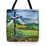 Garden Cross Tote Bag