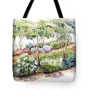 Garden, Dark Side Tote Bag
