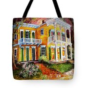 Garden District Home  Tote Bag
