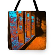 Garden Doorway Tote Bag