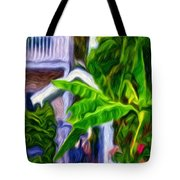 Garden Entrance Tote Bag