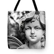 Garden Fairy - Bw Tote Bag
