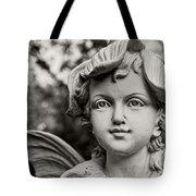 Garden Fairy - Sepia Tote Bag
