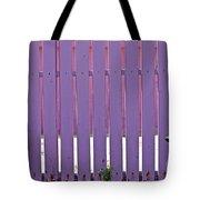 garden Fence Tote Bag
