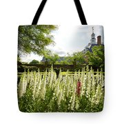 Garden Flowers At The Governor's Palace Tote Bag