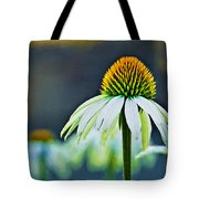 Bristle Flower Tote Bag