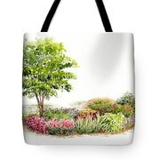Garden Fresh Watercolor Painting Tote Bag