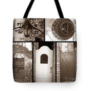 Garden Gates Tote Bag