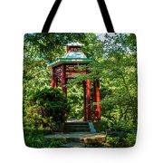 Garden Gazebo Tote Bag