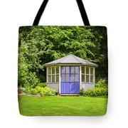 Garden Gazebo House Tote Bag