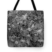 Garden Hydrangeas In Grayscale Tote Bag