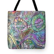 Garden In The Sky Tote Bag