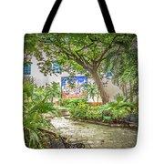 Garden In The Square Tote Bag