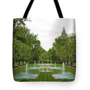 Italian Fountains Of The Garden Tote Bag