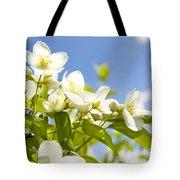 Garden Jasmin Tote Bag