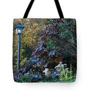 Garden Lamp Post Tote Bag
