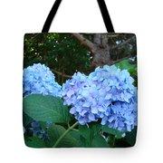 Garden Landscape Blue Hydrangeas Art Print Baslee Troutman Tote Bag