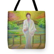 Garden Meditation Tote Bag