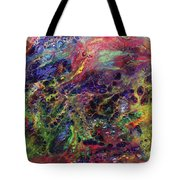 Garden Of Colorful Delight Tote Bag