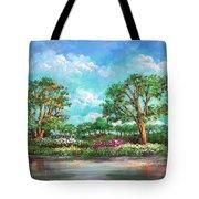 Summer In The Garden Of Eden Tote Bag