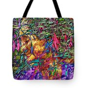 Garden Of Forgiveness Tote Bag by Kurt Van Wagner