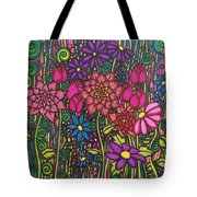 Garden Of Happiness  Tote Bag
