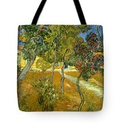 Garden Of Saint Paul's Hospital Tote Bag